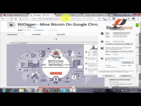 How To Mine Bitcoin Using Google Chrome Browser   Earn Free Bitcoin