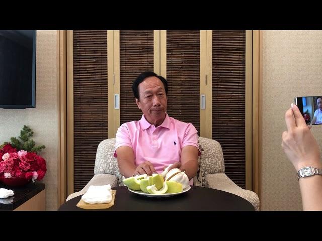 郭台銘錄製中秋影片 笑稱「無黨一身輕」【央廣新聞】