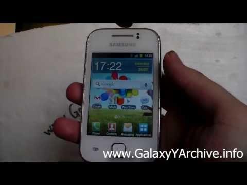 Galaxy S4 Live Wallpaper for Samsung Galaxy Y GT-S5360