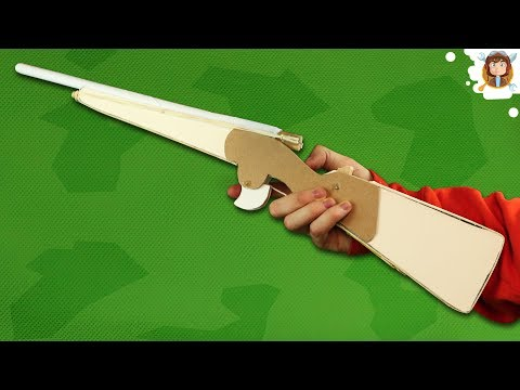 How to Make a Paper Rifle that Shoots