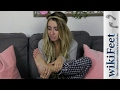 Reacting to my WikiFeet page about my feet Lauren Francesca