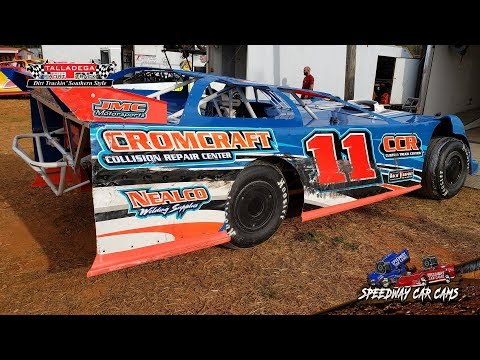 #11 Jay Cromer - 602 Sportsman - 3-29-19 Talladega Short Track - In Car Camera