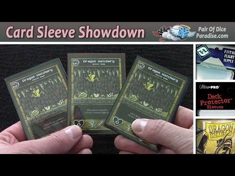 Card Sleeve Review Fantasy Flight Vs Ultra Pro Vs