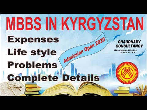 MBBS In Kyrgyzstan For Pakistani Students| 2020| Fee Structure| Expense| Environment| Latest Updates