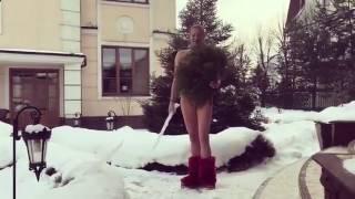 Анастасия Волочкова голая с сосулькой