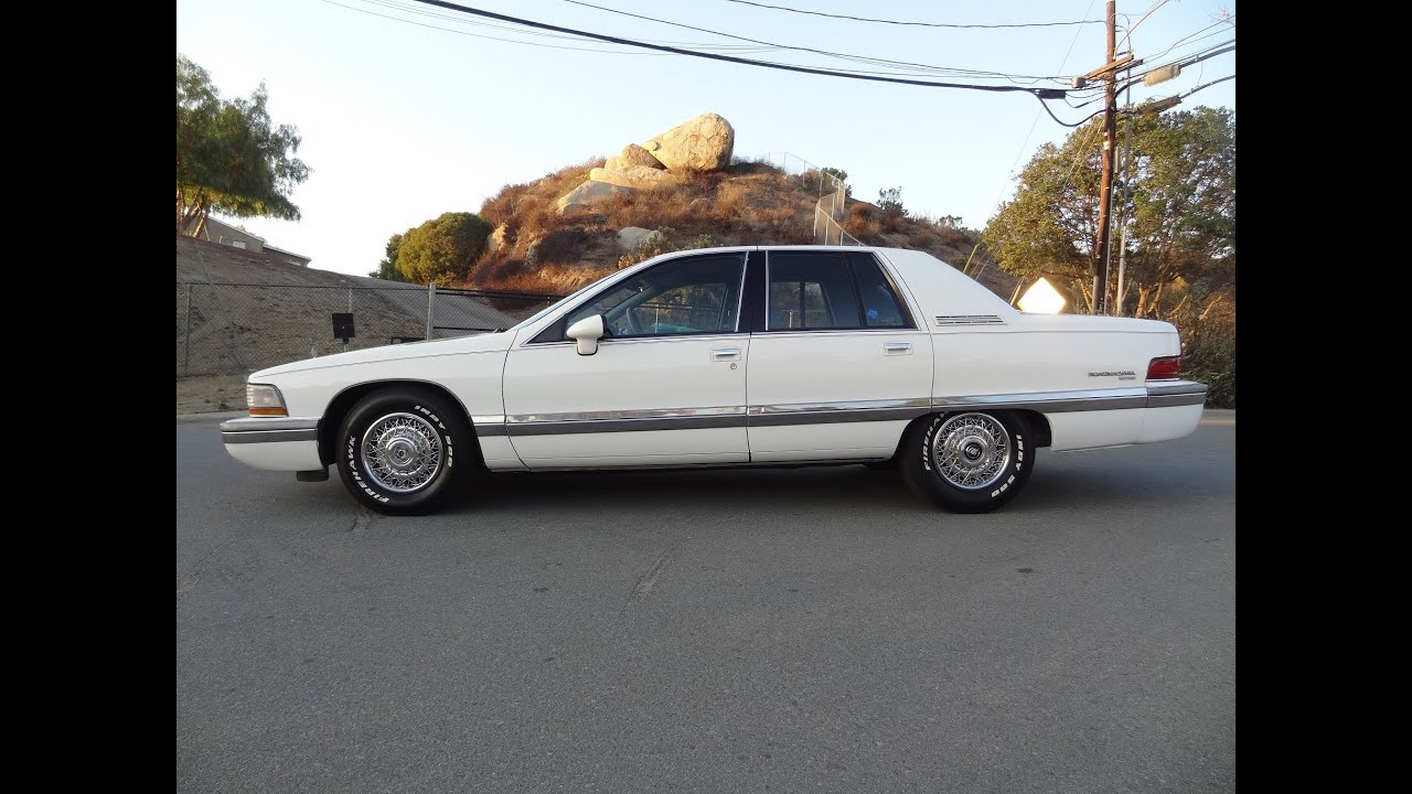 1992 Buick Roadmaster >> 1992 Buick Roadmaster Limited Sedan 350 LT1 1 Owner Clean ...