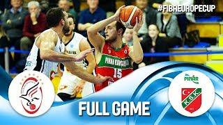 Szolnoki Olaj v Pinar Karsiyaka - Full Game - FIBA Europe Cup 2019
