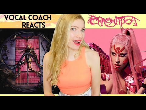 Vocal Coach Reacts: CHROMATICA  - Lady Gaga - In Depth al Analysis