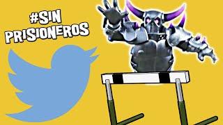 ¡¡Los PEKKAS se hacen los 100m vallas!! | #SinPrisioneros | Descubriendo Clash of Clans