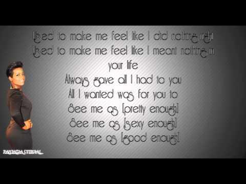 Fantasia - I Feel Beautiful [HD] Lyrics