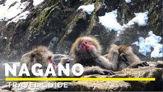 NAGANO JAPAN Travel Guide in 4K (2020) | Snow Monkeys | Japan Winter | Happy Trip