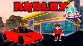 ROBLOX - JAIL BREAK GARAGE UPDATE, NEUE FERRARI!!