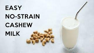 Gambar cover Easy No-Strain Cashew Milk #keto #vegan #paleo