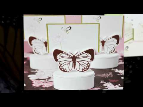 Quick Tips for Planning a Butterfly Themed Wedding - YouTube
