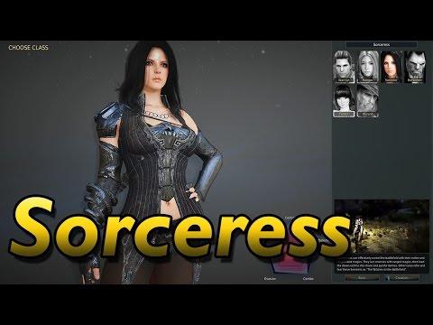 Black Desert Online - Sorceress Beta Gameplay