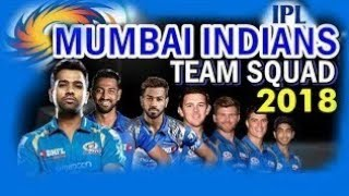 Mumbai Indians Find team IPL 2018 || All 25 players of Mumbai indians squad 2018 Mumbai Indians X1