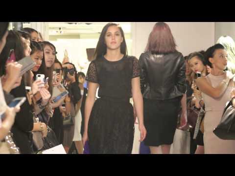 Karen Millen FW14 Fashion Show