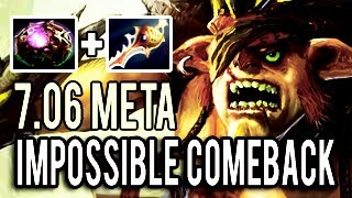 The Legendary Build Bristleback - Octarine and Divine 1k LH 10 Slots Impossible Comeback Dota 2