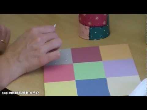 Miniaula de pintura estilo patchwork youtube - Estilo patchwork ...