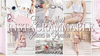 Top 10 Most Instagrammable Places In London | Freddy My Love