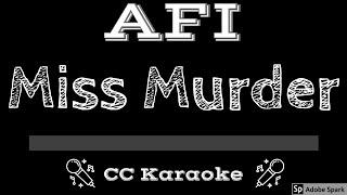 Video AFI   Miss Murder CC Karaoke Instrumental download MP3, 3GP, MP4, WEBM, AVI, FLV Agustus 2018