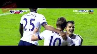 (ไฮไลท์เต็ม)  สเปอร์ส vs แอสตัน วิลล่า (Premier league) 2/11/2015