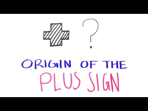 Why is the Plus Sign Used?