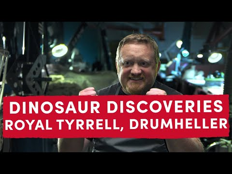 Dinosaur Discoveries At Royal Tyrrell Museum | Ep. 1 Museum Mysteries Uncovered