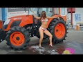 World Amazing Modern Agriculture Heavy Equipment Mega Machines Sexy Girls Tractor Harvester CNC