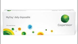 MyDay - однодневные силикон - гидрогелевые контактные линзы.(MyDay – новые дышащие силикон-гидрогелевые линзы ежедневной замены от компании CooperVision. Описание: http://opticus.odessa..., 2016-12-04T21:03:07.000Z)
