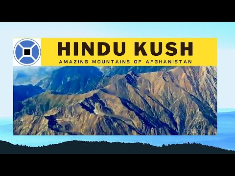 Hindu Kush Mountains near Kabul