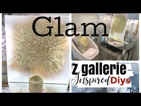 Z GALLERIE INSPIRED GLAM HOME DECOR