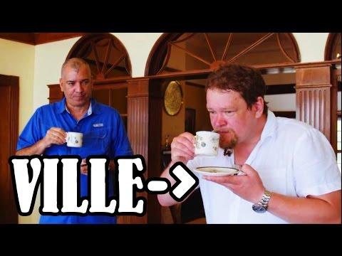 Ville Haapasalo complimenting Jamaica Blue Mountain Coffee