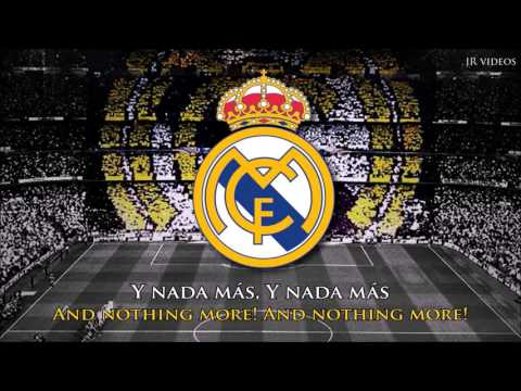 New Anthem of Real Madrid (ES/EN lyrics) - Nuevo Himno del Real Madrid