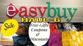 Shopping /Haul-6, Easybuy FREEBIES & DISCOUNTS with prices , Easybuy Shopping/Haul