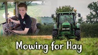 Mowing for hay 4k - Tweenhills
