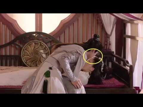 Luhan & Guli Nazha Kissing Scene BTS