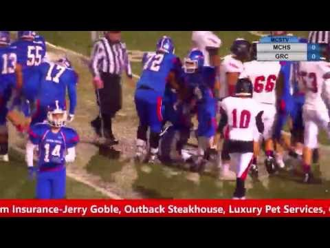 Madison Central High School vs George Rogers Clark  October 21, 2016