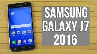 Розпакування Samsung Galaxy J7 2016 Black