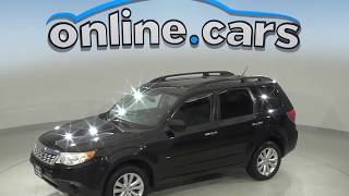 C99538RT Used 2011 Subaru Forester 2.5X AWD SUV Black Test Drive, Review, For Sale