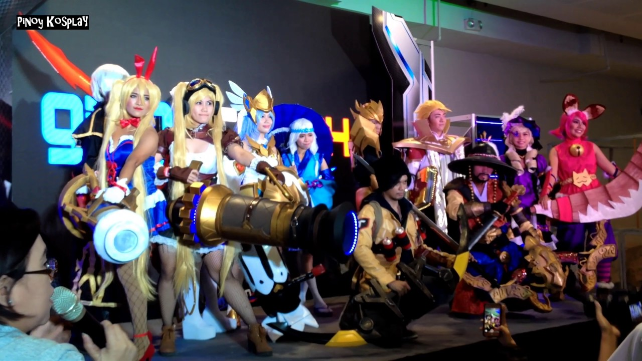 Mobile Legends Cosplayers at Gamecon 2017 - YouTube