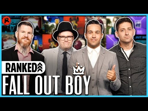 Every Fall Out Boy Album Ranked WORST to BEST