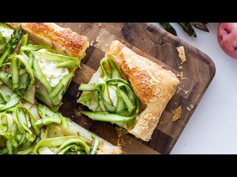 Potato Asparagus Tart