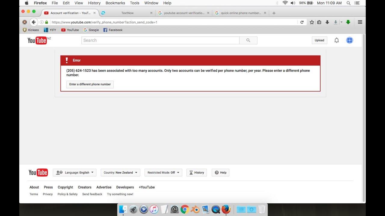 Youtube help phone number