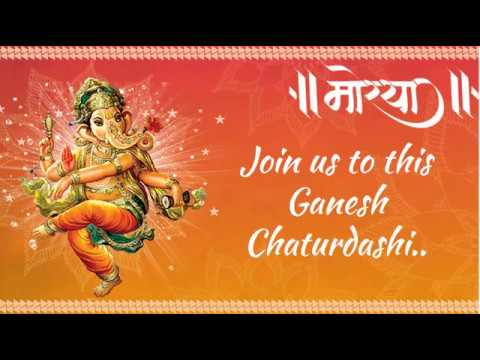 Invitation cards for ganesh festival paperinvite ganesh chaturthi video invitation sample you stopboris Image collections