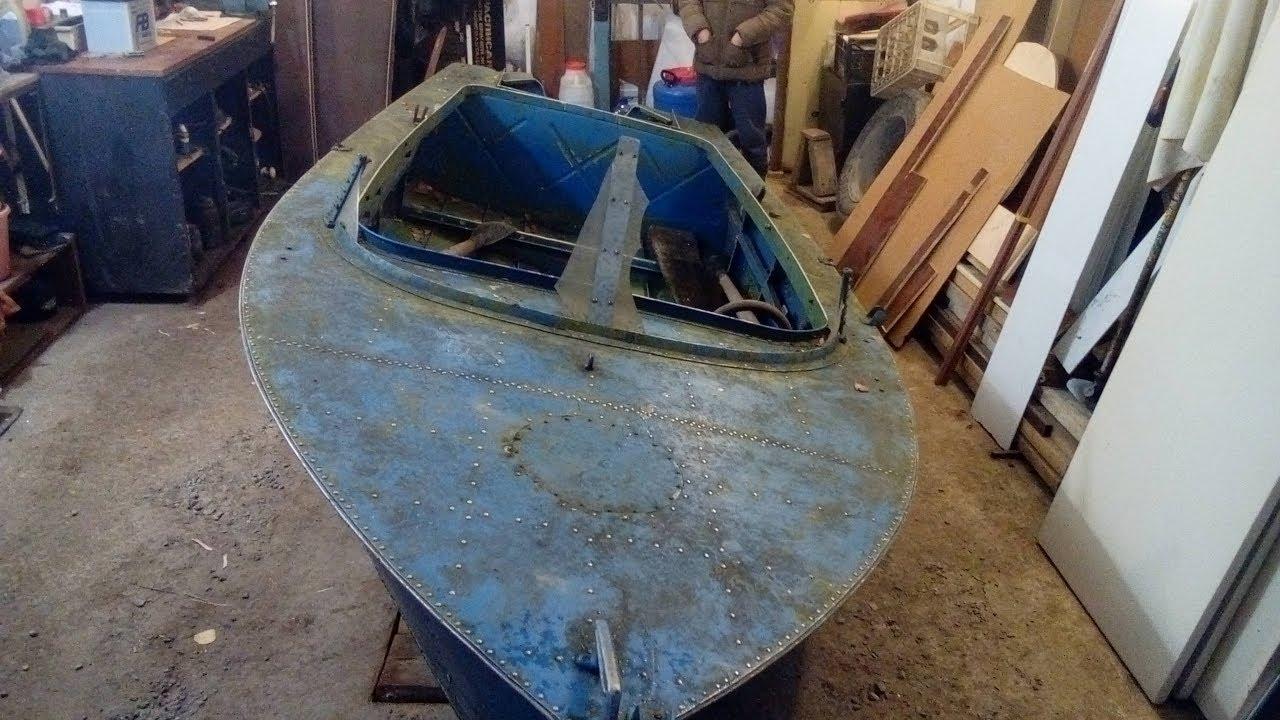 Лодка МКМ , бюджетный тюнинг в гараже. (1) - YouTube
