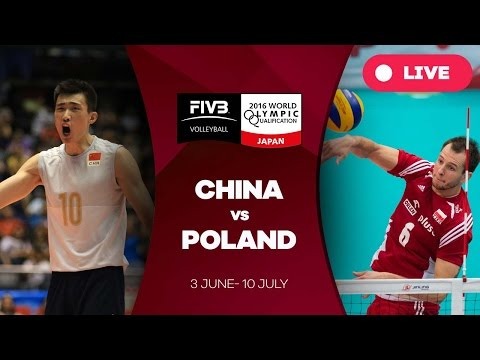 China v Poland - 2016 Men's World Olympic Qualification Tournament