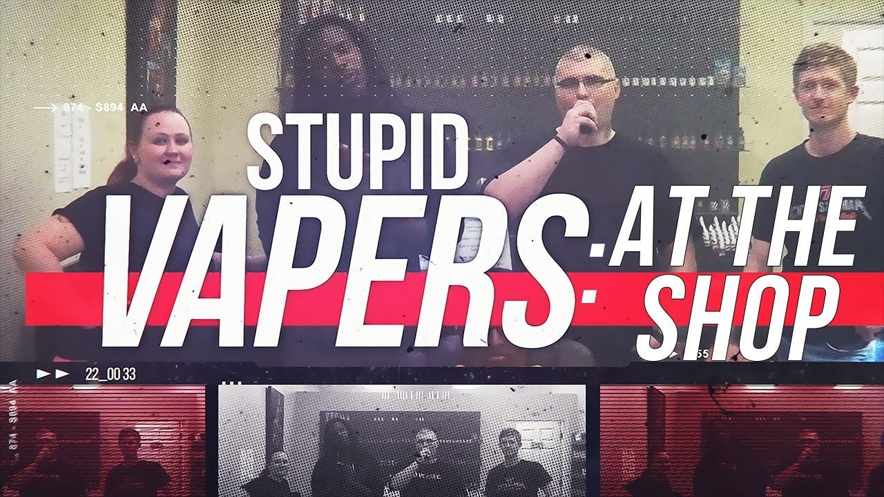 Vape Skit: Stupid Vapers at the Vape Shop | Episode #1 ft ZestyVapes
