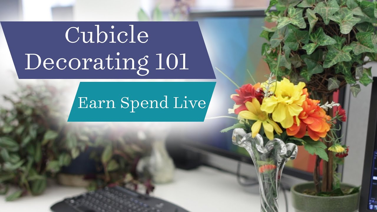Cubicle Decorating 101: Tips for Making Your Desk Your Own - YouTube