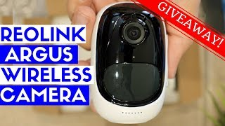 Reolink Argus Review + GIVEAWAY: Best Wireless Security Camera for Home?